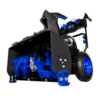 Snow Joe ION8024-XRP Cordless Two Stage Snow Blower | 24-Inch · 80 Volt · 2 x 6 Ah Batteries | 4-Speed · Headlights
