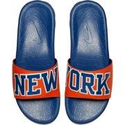 0024b5582bf8 New York Knicks Nike Benassi Solarsoft NBA Slides - Orange