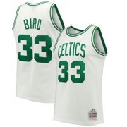 0bad45cce Larry Bird Boston Celtics Mitchell   Ness 1985-86 Hardwood Classics  Swingman Jersey - White