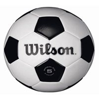 Wilson Traditional Black and White Soccer Ball ( All Sizes)