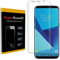 [2-PACK] For Samsung Galaxy S8 - SuperGuardZ 3D Curved FULL COVER Screen Protector, Full Screen Coverage, HD Clear, Anti-Scratch, Anti-Bubble, Anti-Fingerprint