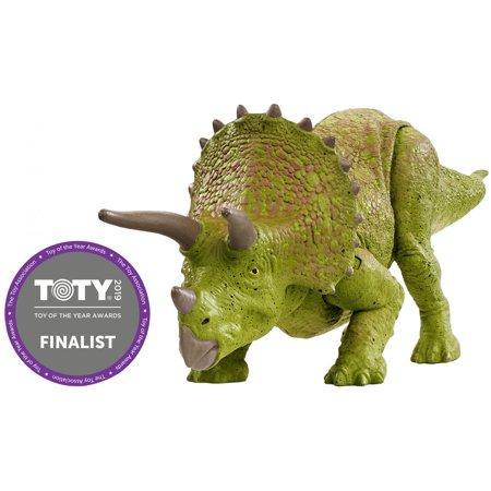 Jurassic World Battle Damage Triceratops Dinosaur Figure