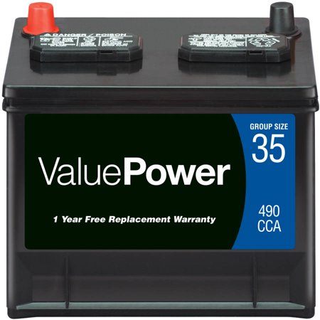 Valuepower Lead Acid Automotive Battery Group 35 Walmart Com