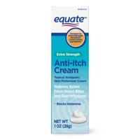 Equate Extra Strength Anti-Itch Cream, Topical Analgesic, 1 Ounce