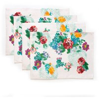 The Pioneer Woman Country Garden Reversible Placemats, Set of 4, Multiple Counts
