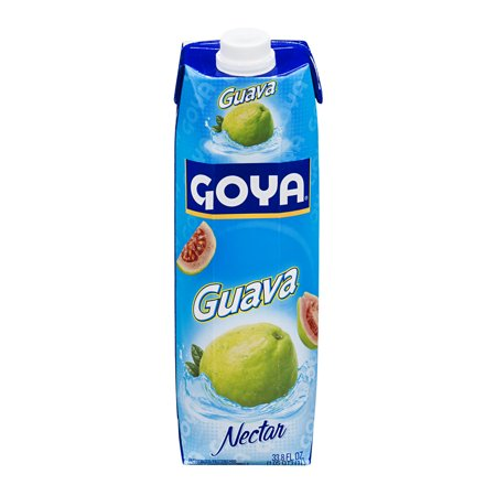 Guava Splash ((2 Pack) Goya Fruit Nectar, Guava, 33.8 Fl Oz, 1)