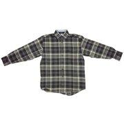 4ecb42f4f9 Mens Wrangler Western George Strait Flannel Plaid Shirt MGS05HM Any Sz S M  L XL