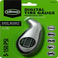 Slime Digital Tire Pressure Gauge with Lighted Tip 5-150 PSI - 20017