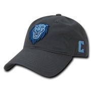 NCAA Columbia University Lions 6 Panel Relaxed Cotton Baseball Caps Hats  Dark 05ef333a6807
