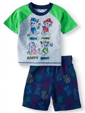 Toddler Boys' T-Shirt and Shorts, 2-Piece Outfit Set