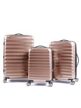 iFLY Hardside Fibertech Luggage, 3 Piece Set