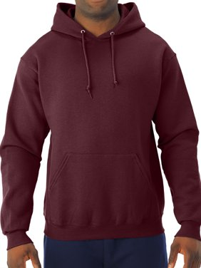 Big Men's Soft Medium-Weight Fleece Hooded Pullover Sweatshirt