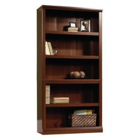 Sauder Select 5-Shelf Bookcase, Select Cherry Finish