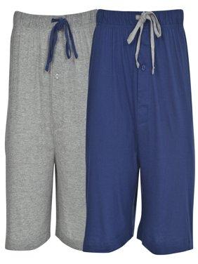 Men's 2 Pack Knit Shorts