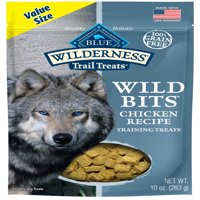 Blue Buffalo Wilderness Trail Treats Wild Bits Grain Free Soft-Moist Training Dog Treats, Chicken Recipe