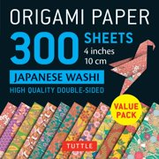 ad6a60bb933 Origami Paper 300 Sheets Japanese Washi Patterns 4