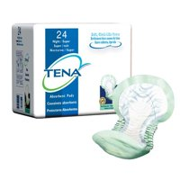 SCA Personal Care Tena Night Super Pad, Green, 24 Per Pack (SQ62718) Category: Adult Incontinence Underwear