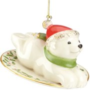 Lenox 847027 Polar Bear Express Christmas Ornament