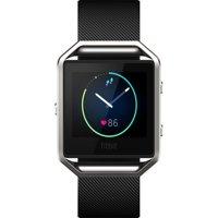 Refurbished Fitbit FB502SBKS Blaze Smart Fitness Watch (Small) - Black
