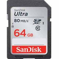 SanDisk 64GB UHS-I Class 10 Ultra SDXC Memory Card