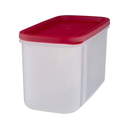 Rubbermaid Modular Plastic Canister Food Storage Container with Lid, 10 Cup/2.5 - Plastic Containers With Lids