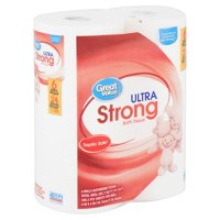 Great Value Ultra Strong Bath Tissue, 6 count