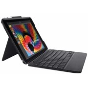 63a774d3ddd Logitech Slim Combo Case with Detachable Backlit Bluetooth Keyboard and  Apple Pen Holder for iPad 9.7