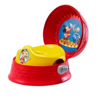 Disney Mickey Mouse 3-in-1 Potty Training Toilet, Toddler Toilet Training Set