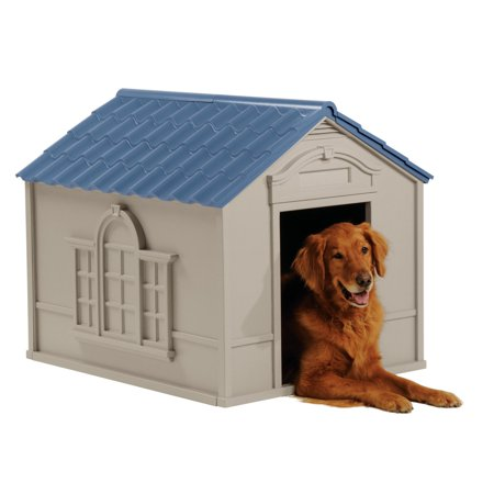 - Suncast Deluxe Dog House, Large, 33