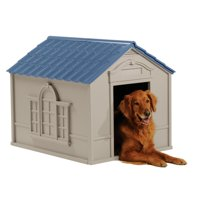 "Suncast Deluxe Dog House, Large, 33""x38.5""x32"", DH350"