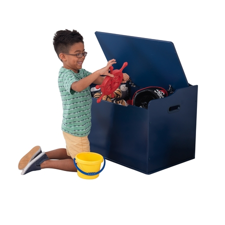 - KidKraft Austin Wooden Toy Box, Multiple Colors