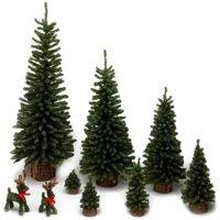 "Vickerman 18"" Mini Pine Artificial Christmas Tree, Unlit"