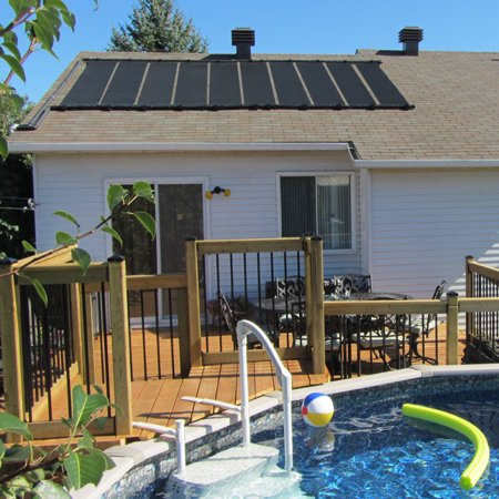 2 2 X12 Sunquest Solar Swimming Pool Heater With Roof