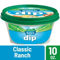 (2 Pack) Hidden Valley Ready-to-Eat Dip, Classic Ranch - 10 Ounces