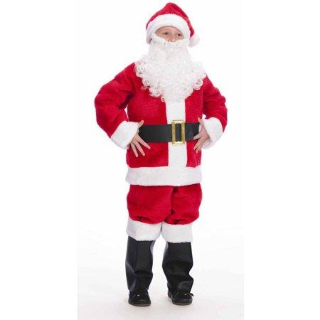 Santa Suit Boys' Halloween Costume (Boys Santa Suit)
