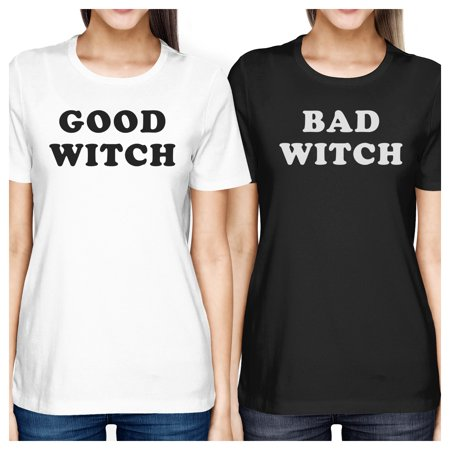 Good Witch Bad Witch Best Friend Matching Shirts Halloween Tshirts - Halloween Best Friend Ideas