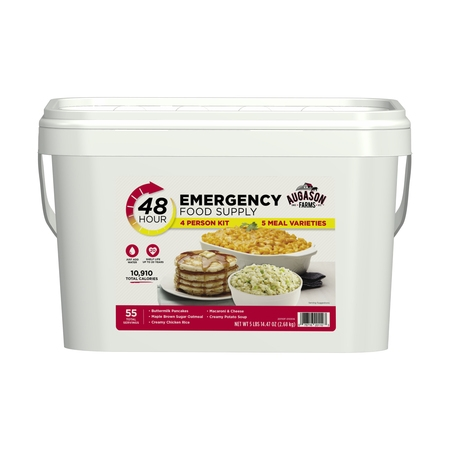 Augason Farms 48-Hour Emergency Food Supply 4 Person Kit, 5 lbs 14.47 oz - Halloween Food Ideas Meals
