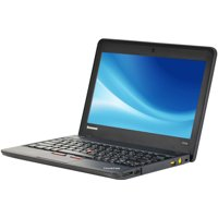 "Refurbished Lenovo ThinkPad X131E 11.6"" Chromebook, Chrome, Intel Celeron 1007U Processor, 4GB RAM, 16GB Solid State Drive"