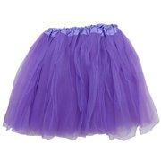 d0bfd882d Black Adult Size 3-Layer Tulle Tutu Skirt - Princess Halloween Costume,  Ballet Dress