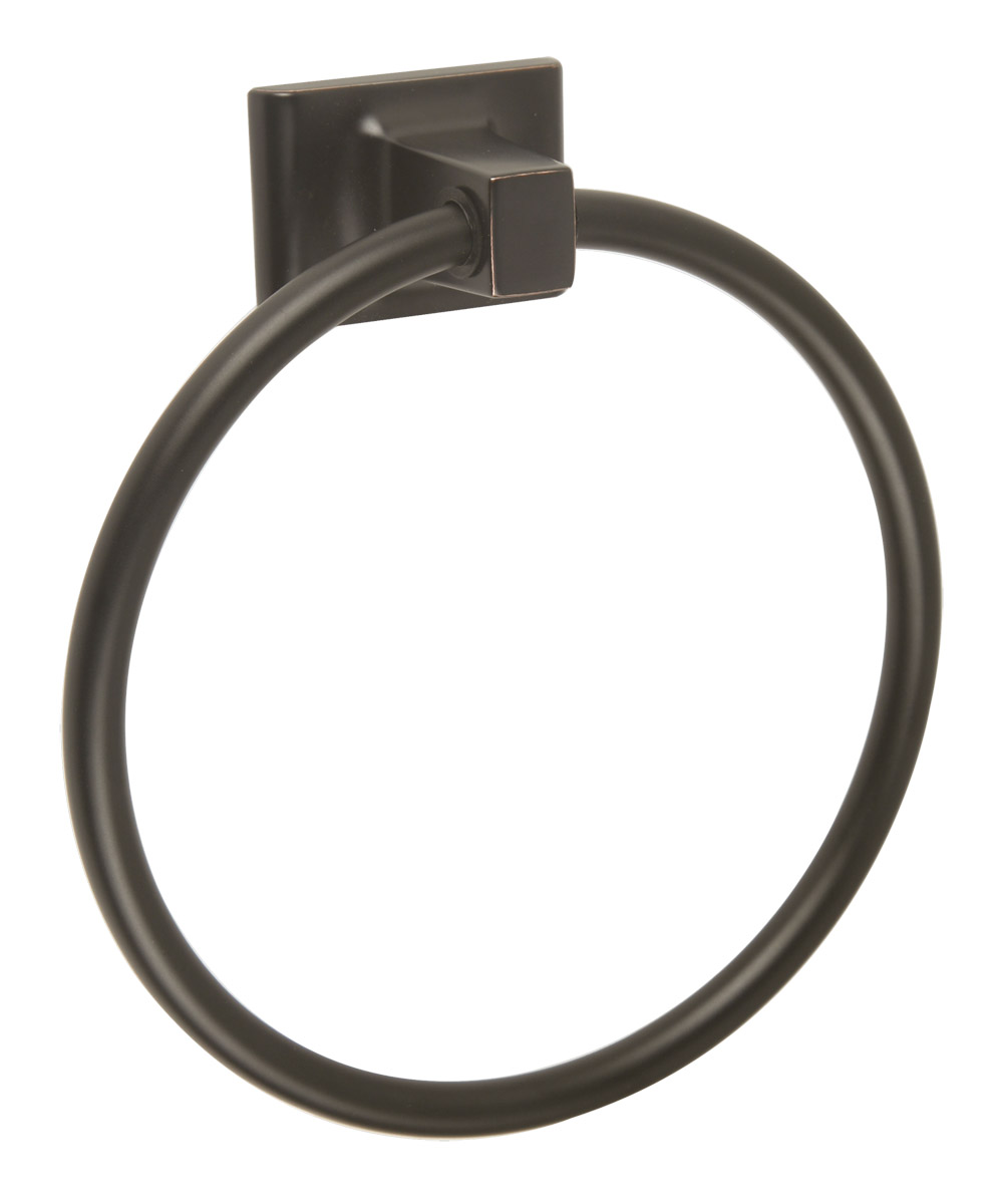 Design House 539239 Millbridge Wall Mounted Towel Ring For Bathroom, Oil  Rubbed Bronze