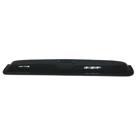"TuningPros DSVT2-502 980mm 38.5"" Type 2 Sunroof Moonroof Top Wind Deflector Visor For 2003-2010 BMW X3 in Dark Smoke 1 Pc Set"