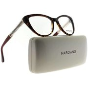 4189fba401a8 Guess By Marciano GM0312-050-53 Cat Eye Womens Brown Frame Clear Lens  Eyeglasses