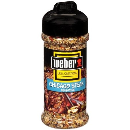 (2 Pack) Weber Chicago Steak Seasoning Rub 5.5 oz. (Wild Raspberry Rub)