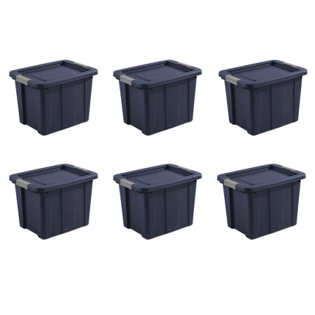 Sterilite, 18 Gal./68 L Latching Tuff1 Tote, Case of 6