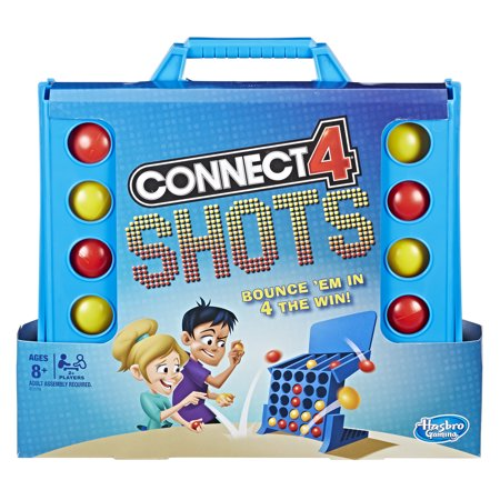 Connect 4 Shots Activity Game, Game for kids Ages 8 and up - Adult Carnival Games