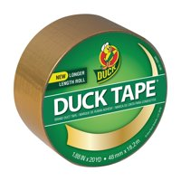 Duck Brand Color Duct Tape, 1.88 inches x 20 yards, Gold