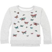 Printed Fleece Hi-Lo Sweatshirt (Little Girls & Big Girls)