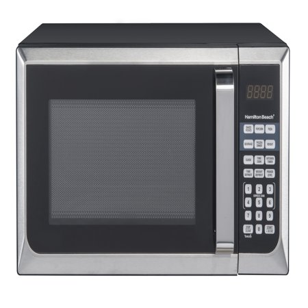 Hamilton Beach 0.9 Cu. Ft. Stainless Steel Microwave