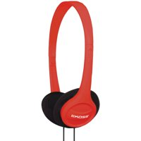 KOSS 190494 KPH7 On-Ear Headphones (Red)