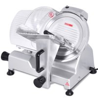 """Costway 10"""" Blade Commercial Meat Slicer Deli Meat Cheese Food Slicer Industrial Quality"""